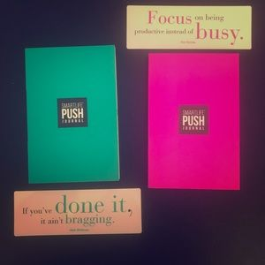 Other - 2 Smartlife Push Journals by Chalene Johnson
